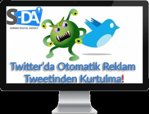 virus, twitter virüs, otomatik tweet,