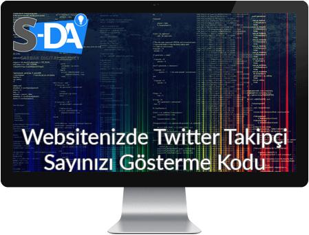 sitede twitter takipçi sayısını gösterme, sitene twitter butonu ekle, siteye twitter ekleme, twitter kodu, twitter script, twitter sitene ekle, twitter sitene ekle kodları